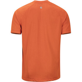 Marmot Accelerate Chemise manches courtes Homme, orange haze heather